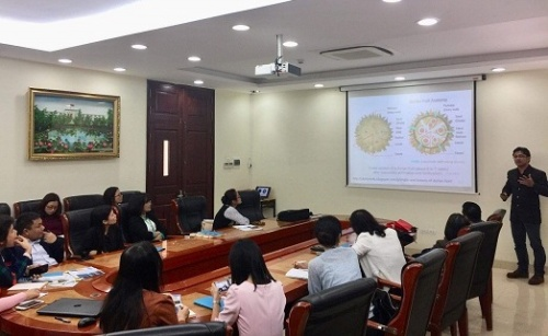 Seminar presented by Assoc. Prof. Dr. Chalermchai Wongs-Aree – Head of the Division of Post-harvest Technology