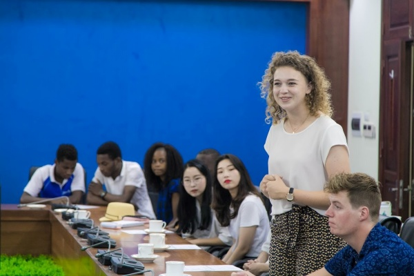 The representative student from HAS University of Applied Sciences (the Netherlands)