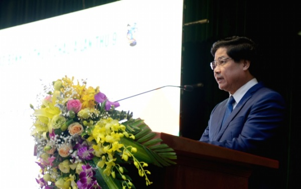 Mr. Le Quoc Doanh - Deputy Minister of Agriculture and Rural Development (MARD) deliveres the welcome marks of the 9th ASVP Conference