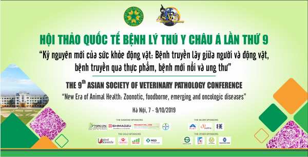 """The 9th Asian Socitey Of Veterinary Pathology Conference """"New Era of Animal Health: Zoonotic, foodborne, emerging and oncologic diseases"""""""