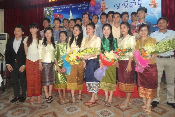 Laos' Traditional New Year Festive held at VNUA